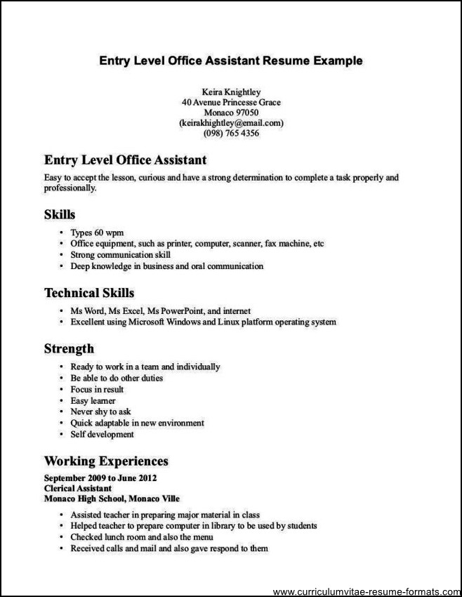 escrow clerk sample resume resume cv cover letter sample clerical - clerical duties resume
