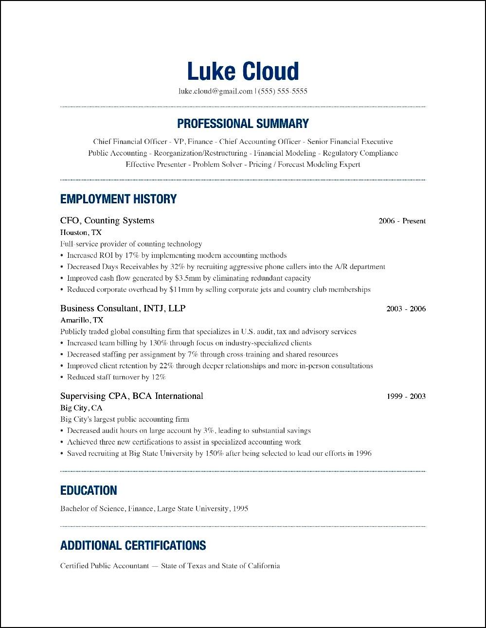 modern writter resume examples