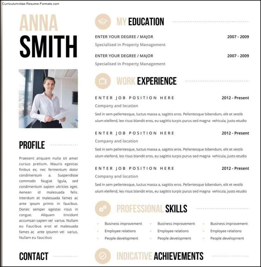 cool cv templates download free creative resume templates word creative resume templates word - Free Creative Resume Templates Word