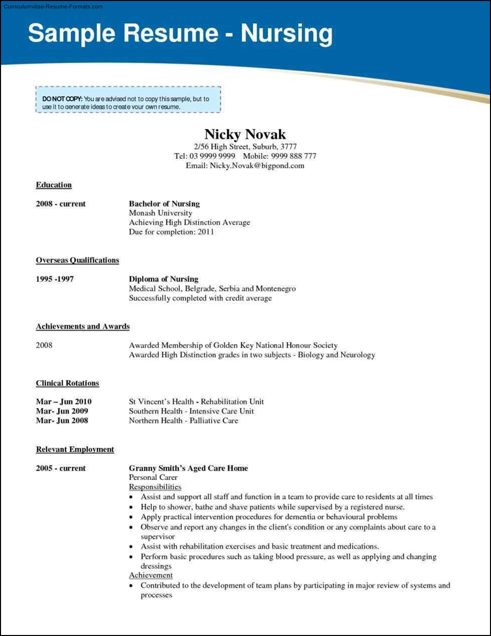 nursing resume recent graduate sample customer service resume nursing resume recent graduate example of new graduate nurse resume school of nursing how to write