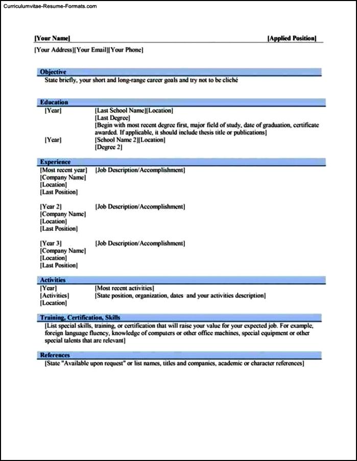 download resume templates word 2010 - Minimfagency - resume templates word 2010