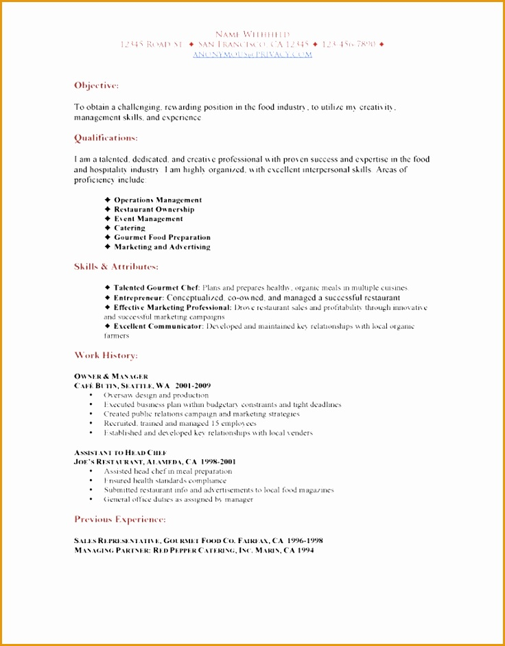 Campaign Worker Sample Resume - sarahepps -