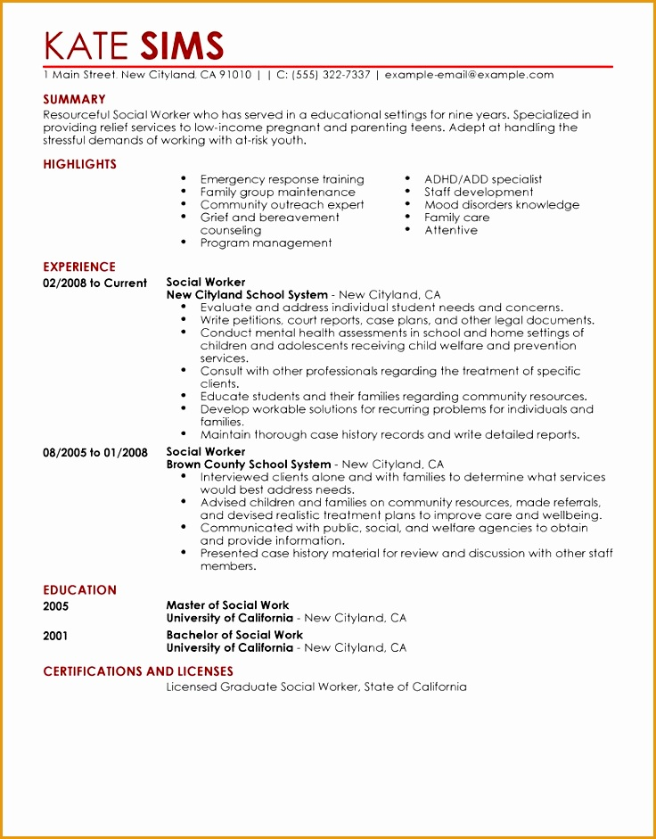 guerrilla resume template free