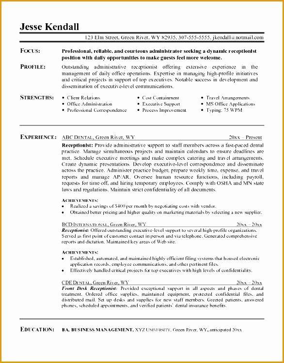 Writing A Resume Objective Summary