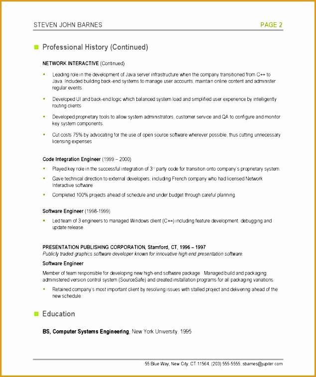 6 computer programmer resume