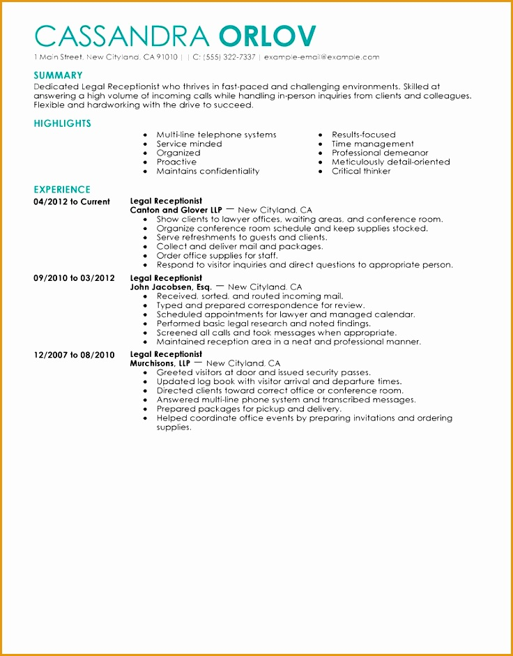 student receptionist sle resume - 28 images - front desk