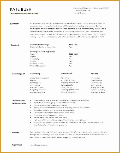 broker cv - Jolivibramusic - ship broker sample resume