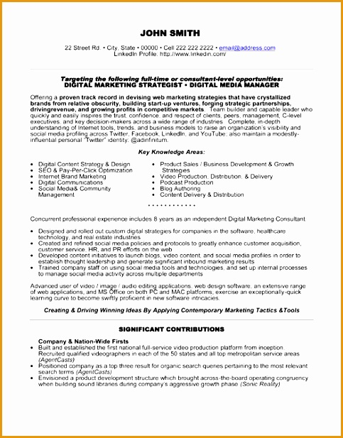 Digital Media Producer Sample Resume - Digital Content Producer Sample Resume