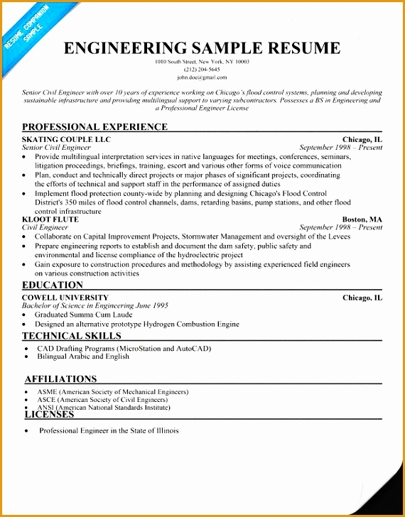 free exle of engineering technician resumes - 28 images - free sle