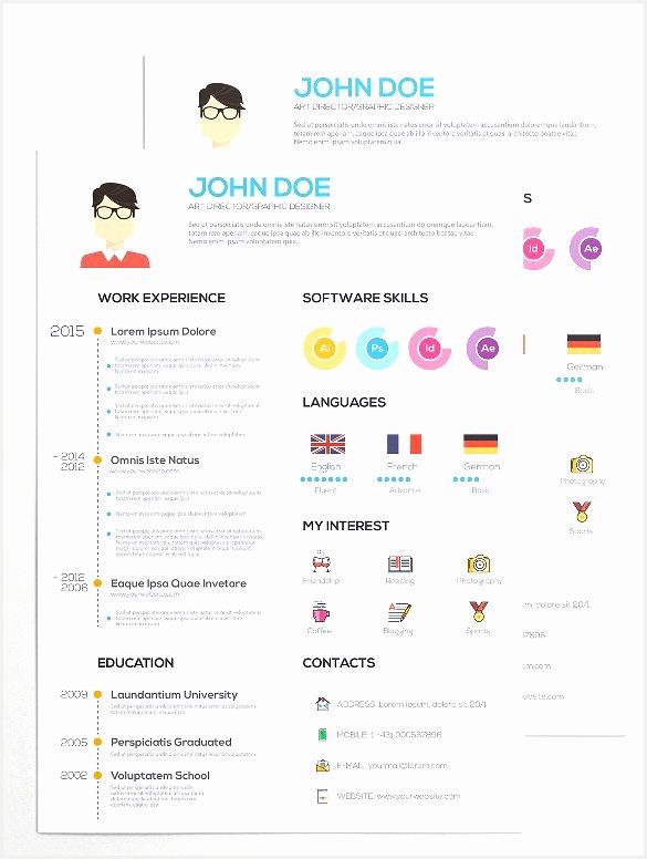 33 infographic resume templates