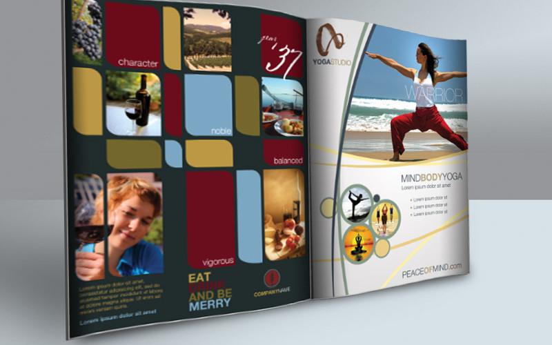 Print Ad Templates v2 - Magazine Ads for Photoshop Cursive Q