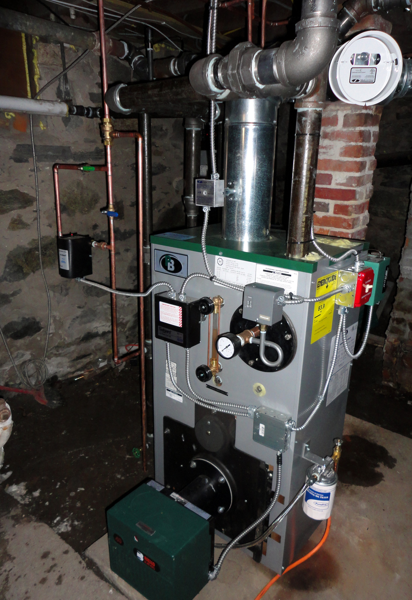 Parts For Burnham Oil Fired Boilers, Parts, Free Engine