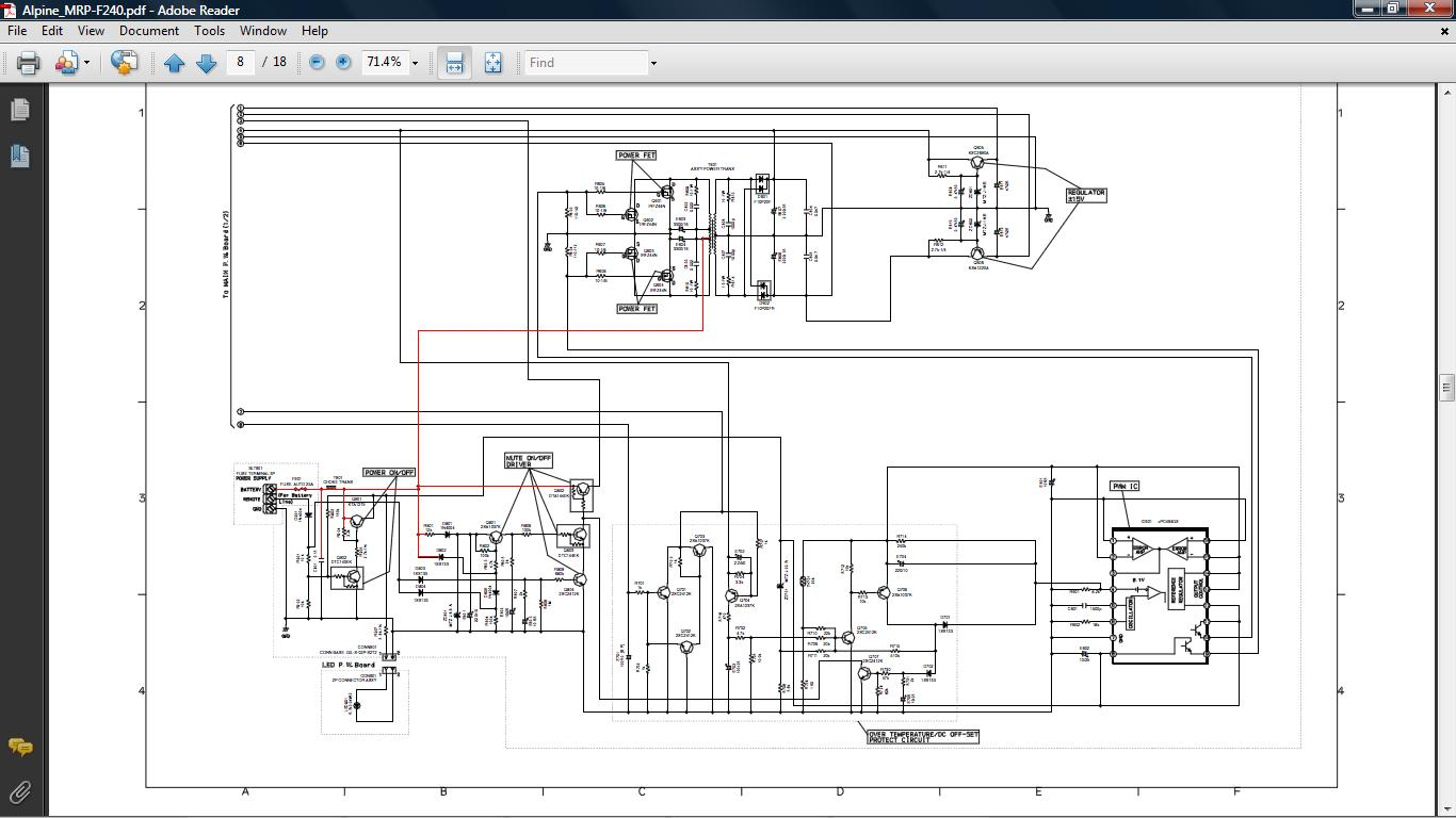 alpine mrp f300 wiring diagram