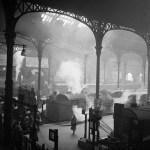 Liverpool Station, Londres, 1947 © Ministère de la Culture - Médiathèque de l'architecture et du patrimoine, Dist. RMN-Grand Palais / Marcel Bovis
