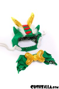 Cushzilla Dragon Costume for Cats and Dogs