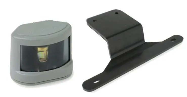 Universal Black Plastic License Bracket Custer Products
