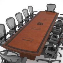 Nebraska Machinery Conference Table