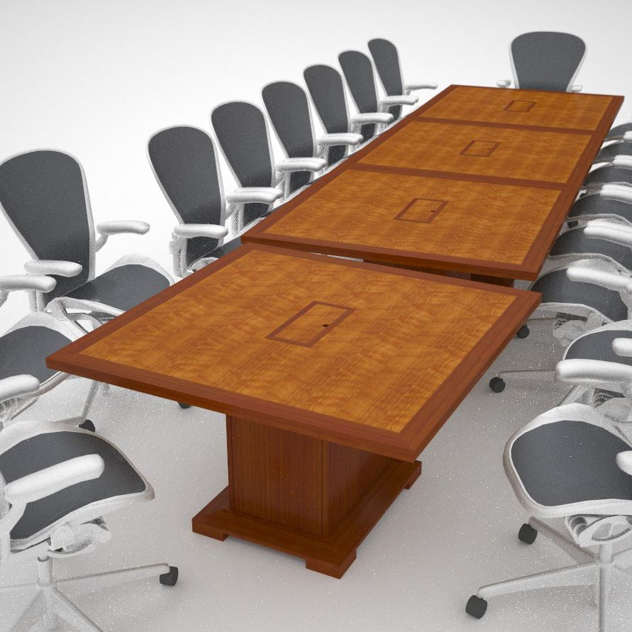 Whitetail club modular conference table