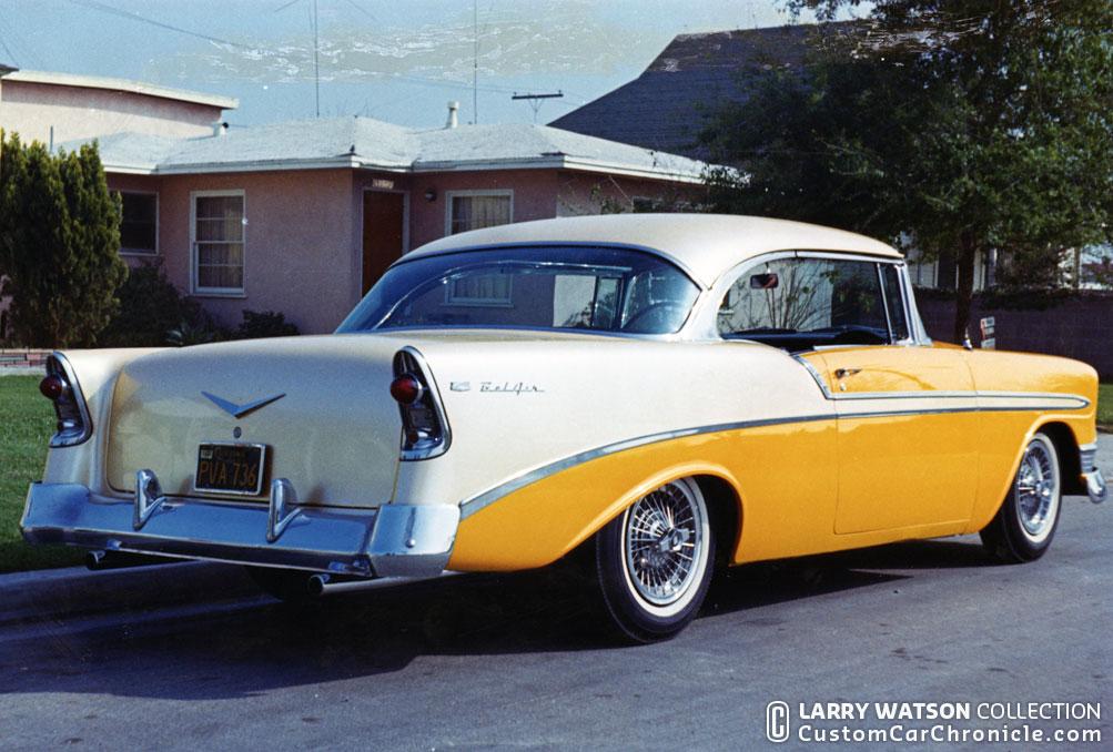 Larry Watson 56 Chevys - Custom Car ChronicleCustom Car Chronicle