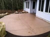 Add a splash of color with concrete | Custom Concrete