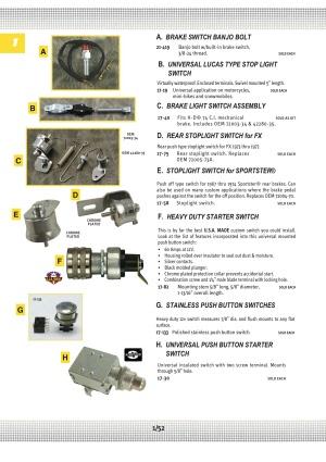 Electrical Batteries, Wiring, Lights, Starter Motors