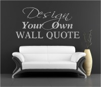 Make Your Own Wall Decal Quote - c Wall Decal