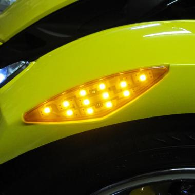 LED lights and accessories for Can-Am Spyder