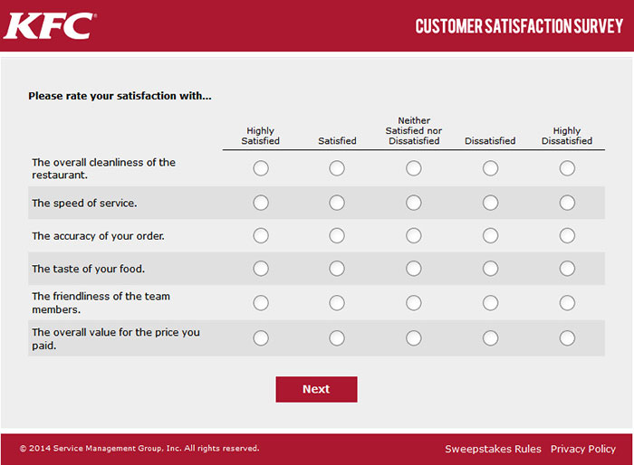 Restaurant Customer Satisfaction Survey  Plan
