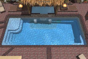 Fiberglass Tanning Ledges Lee Swimming Pools Swimming