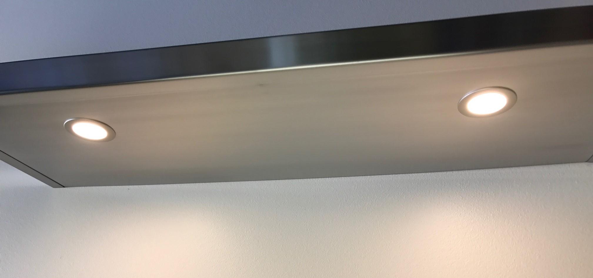 Floating Shelf Recessed Lighting Custom Floating Shelves