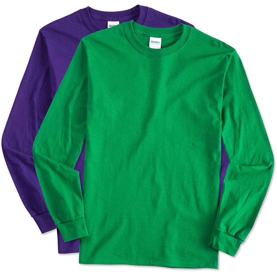 Gildan ultra cotton long sleeve t shirt with a pocket 2410 ebay -  Gildan Ultra Cotton Long Sleeve T Shirt Download