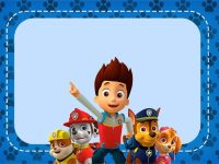 Printable Paw Patrol Invitation Card - Free Printable ...