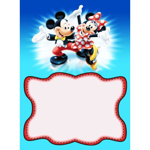 Medium Crop Of Mickey Mouse Invitations