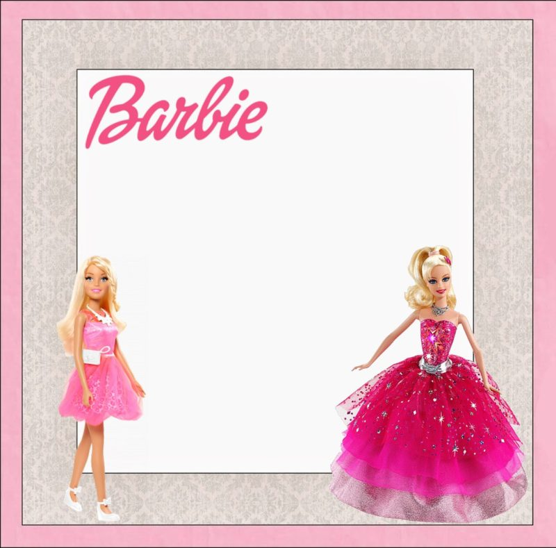 Barbie Invitations You can really surprise your guests Free