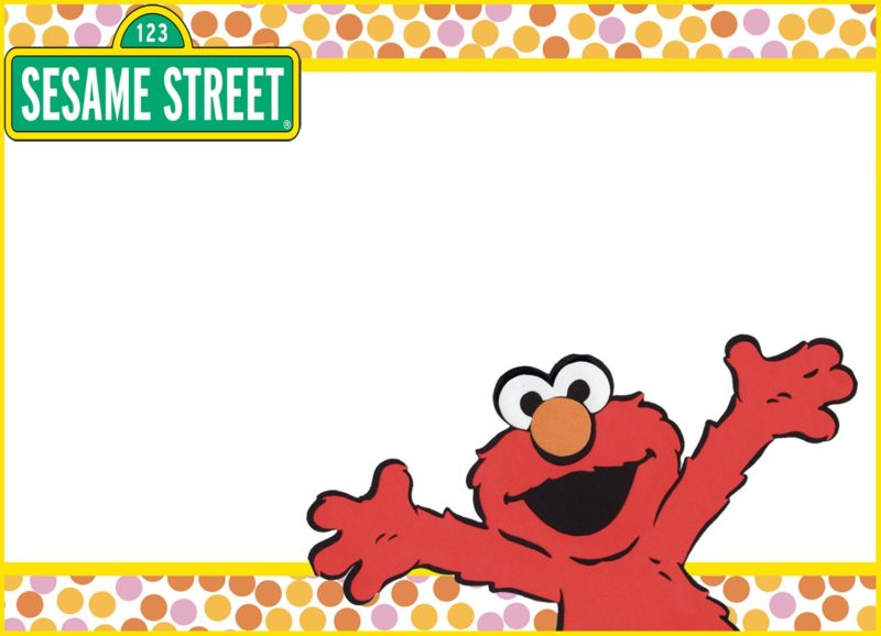 Elmo Picture Birthday Invitations - Ivoiregion