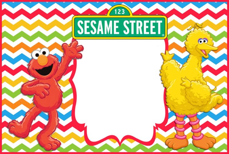 12 Printable Elmo Invitations - Children\u0027s favorite birthday theme