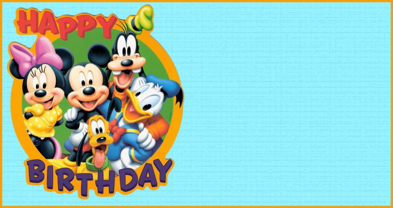 8+ Free Mickey Mouse Invitations Templates - Bring Out the Kid in Us