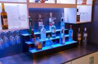 "36"" Home Bar Shelves - Customized Designs"