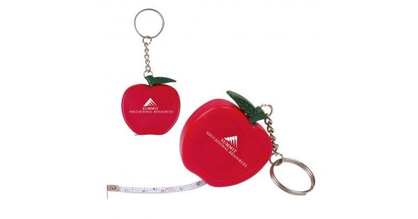Custom Logo Apple Key Holder With 3 Foot Long Tape