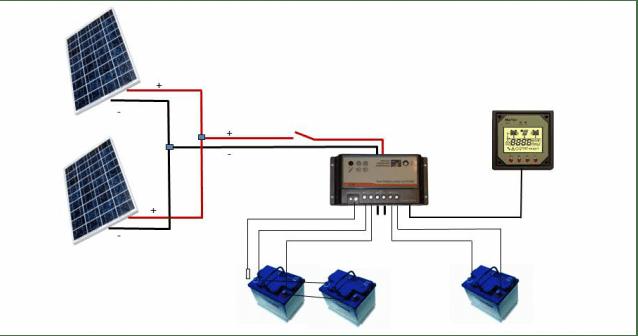 solar wiring schematic