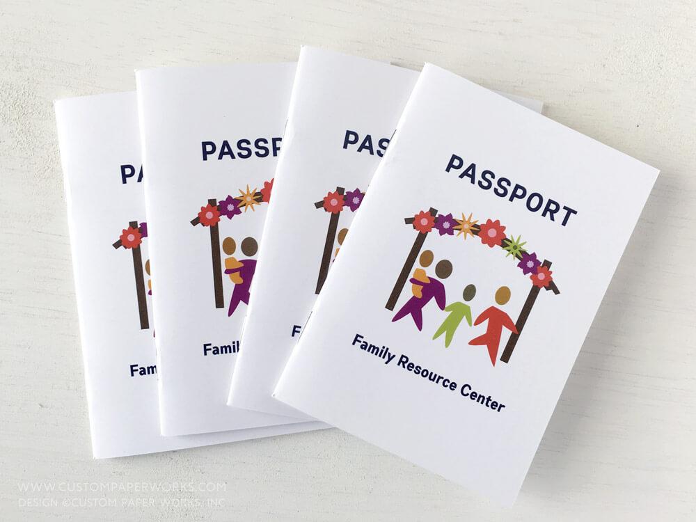 Community Programming Passport Booklet Printing \u2013 Custom Paper Works