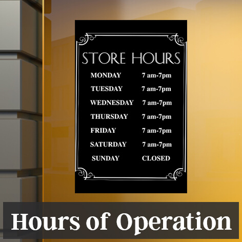 Sign Templates, Template Designs for Signs, Customize - CustomSigns