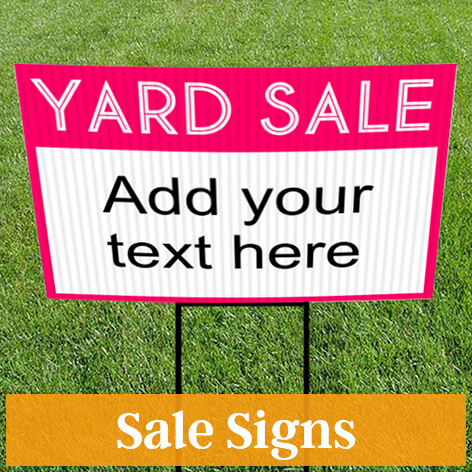 Sign Templates, Template Designs for Signs CustomSigns
