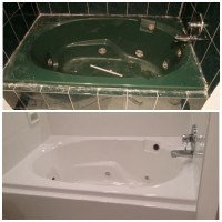 Jacuzzi Tub Resurfacing - Custom Tub and Tile Resurfacing