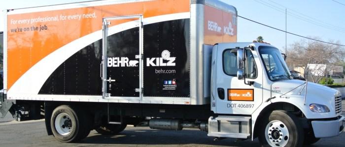 BEHR KILZ – Promotional Truck Wrap