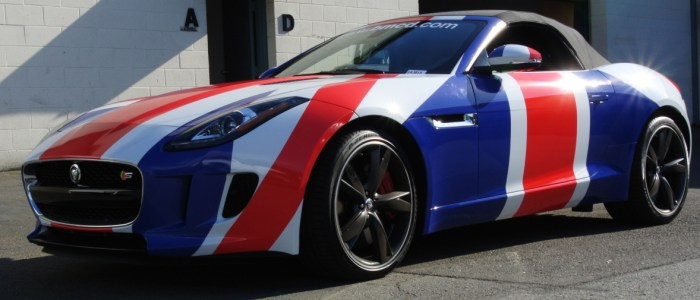 Car Wrap for British Motor Car Distributors