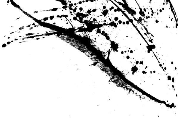 Black And White Wallpaper Living Room Ink Splatter Black Acrylic Paint Splash Custom Wallpaper