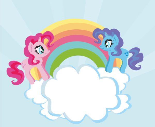 Cute Girl Background Wallpaper Cute Unicorns And Rainbow Custom Wallpaper