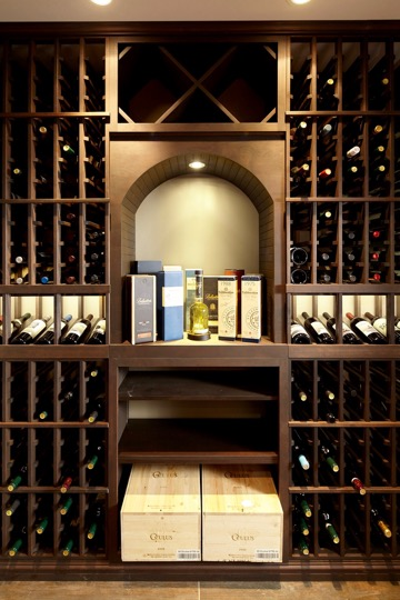 Luxurious Custom Wine Cellar Design For A High End Home In