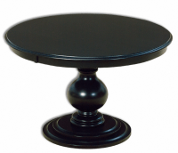10 Single Pedestal Round Dining Tables - Cute Furniture